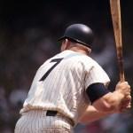 astros vs yankees Mickey Mantle (Back) | Neil Leifer