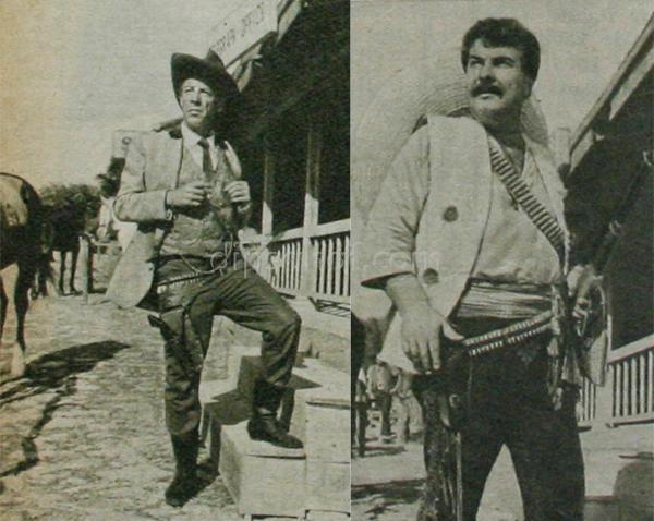 Munir Ozkul Kadir Savun kovboy Yeşilçam'ın Kovboyları