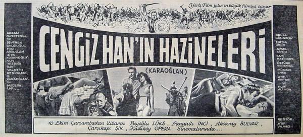Cengiz Han'ın Hazineleri (Atıf Yılmaz, 1962)