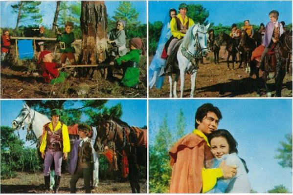 Filmin lobisindeki fotoğraflar