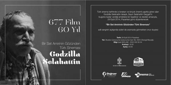 'Bir set amirinin gözünden Türk sineması' sergisi