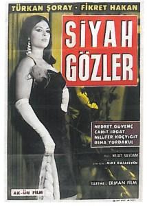 afis siyah gozler 1965 Türkan Şoray