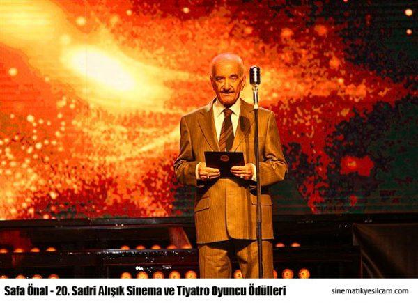 20. Sadri Alışık Sinema ve Tiyatro Oyuncu Ödülleri