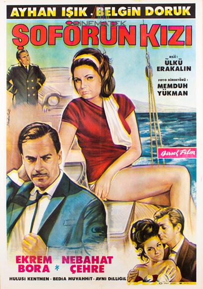 Şoförün Kızı 1965 afiş