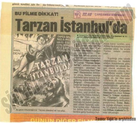 Tarzan İstanbul'da kupur