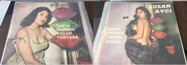 Из Ешилчама в Испанию, от открытки до пластинки – Сузан Авджы (1976) Sinematik Yeşilçam: Sabahattin Bilgiç.