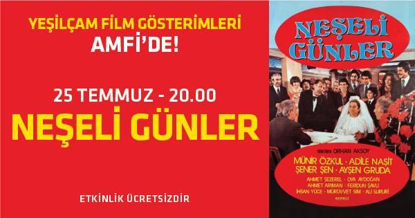 Türk sinemasının sevilen filmleri, Zorlu PSM Amfi'de, 25 Temmuz-12 Eylül tarihleri arasında sinemaseverlerle buluşacak
