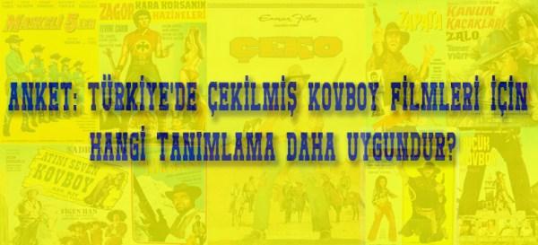 Türkiye'de Çekilmiş Kovboy Filmleri için Hangi Tanım Uygundur?