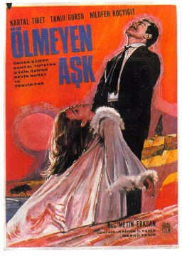 Ölmeyen Aşk (1966) afiş