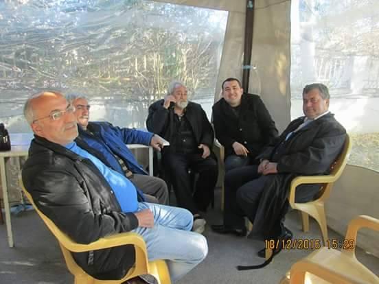 Cevdet Arıkan ve Mustafa Dik Ziyaretleri