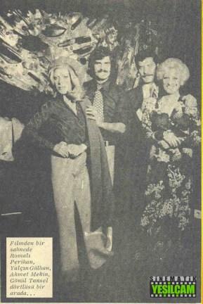 Hey Gidi Yeşilçam - 29 ocak 1975 tarihli Hey Dergisinde yer alan Yeşilçam Televizyona Eğildi haberi - Kaygısızlar