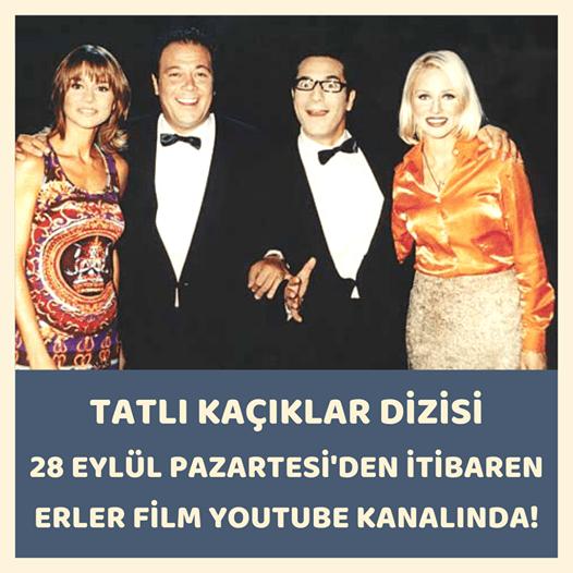 Tatlı Kaçıklar tv dizisi 28 Eylül pazartesinden itibaren Erler Film Youtube kanalında yayında...