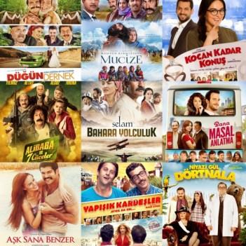 Utku Uluer'den 90 sonrası çekilmiş olan Yeni Türk Komedi Filmlerinin Esin Kaynakları