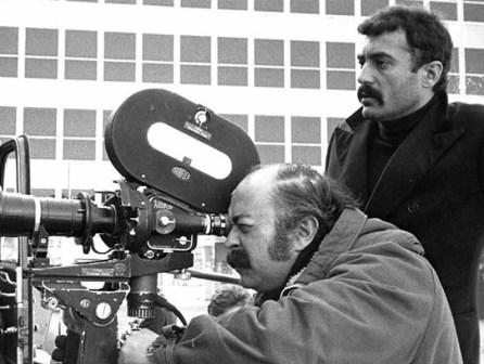 """Otobüs (1974) örüntü yönetmeni Güneş Karabuda, """"Otobüs""""ün çekimlerinde..."""
