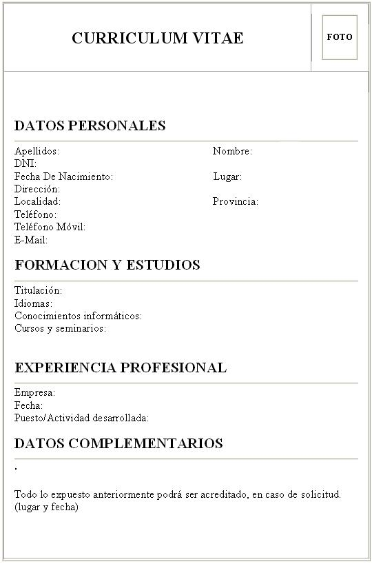 Exemplo De Curriculum Vitae Documentado Essay Buy