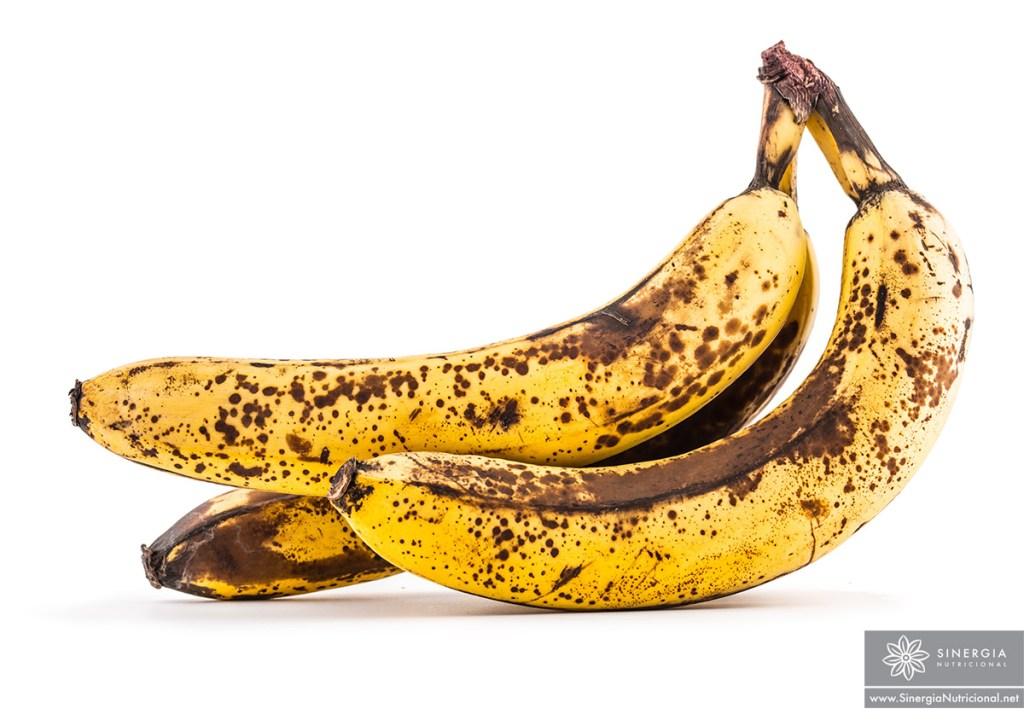 Guineo maduro. Plátano maduro.