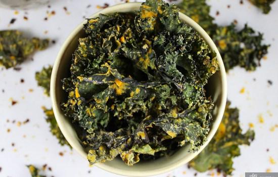 Receta: Kale Chips