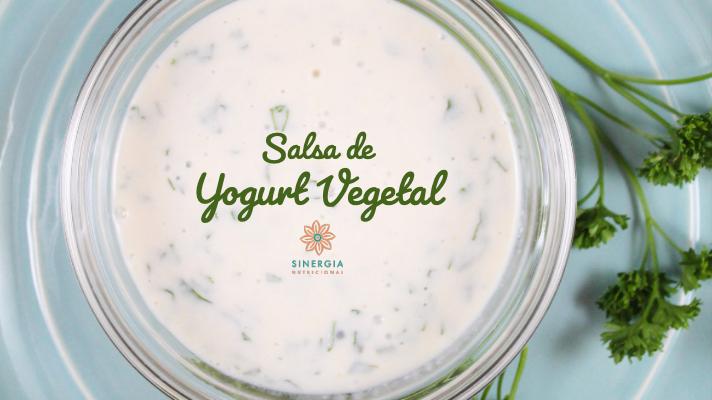 Receta: Salsa de Yogurt Vegetal