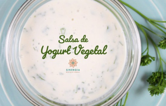 Receta: Salsa de Yogurt Vegetal