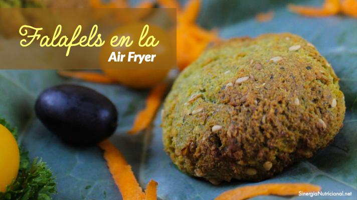 Receta: Falafels en la Air Fryer