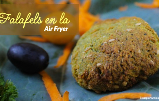 Receta: Falafels en la Air Fryer