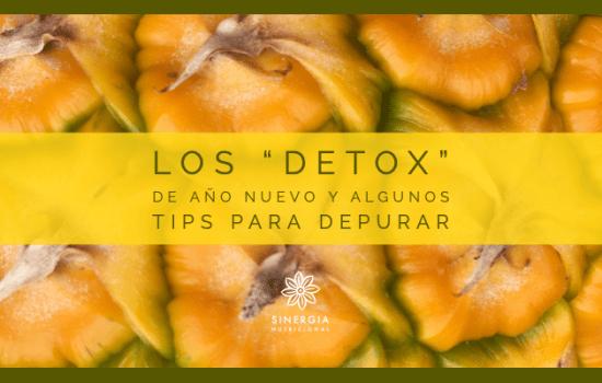 """Los """"detox"""" de año nuevo y algunos tips para depurar"""