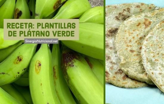 Receta: Plantillas de plátano verde