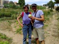 Prima zucchina- Foto ricordo