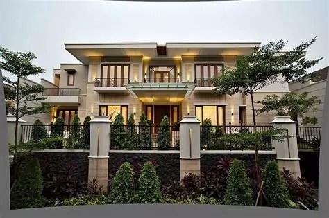 lihat memunculkan estetika terapkan batu alam desain rumah