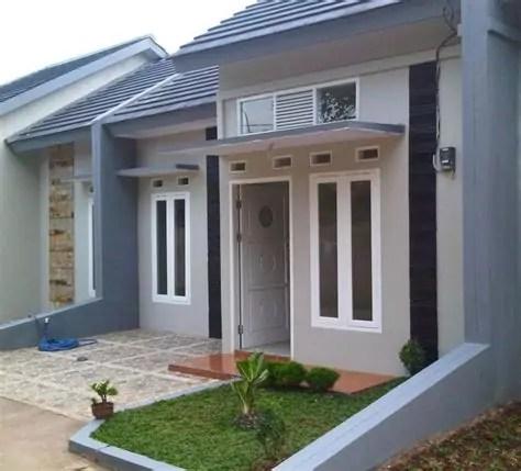 model teras rumah desain minimalis modern ndik home