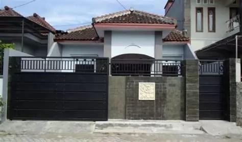 gambar pagar batu alam minimalis rumah impian