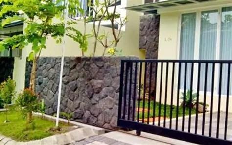 terpopuler pilar pagar batu alam