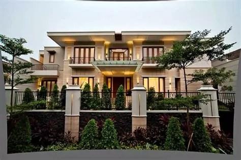 gambar desain rumah minimalis tampak depan batu alam