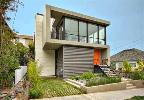 andreyno property desain depan rumah minimalis