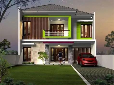 jasa gambar rumah bali minimalis modern lantai