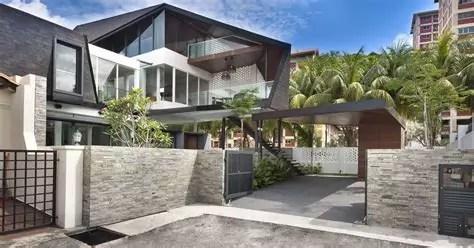rumah minimalis desain batu alam