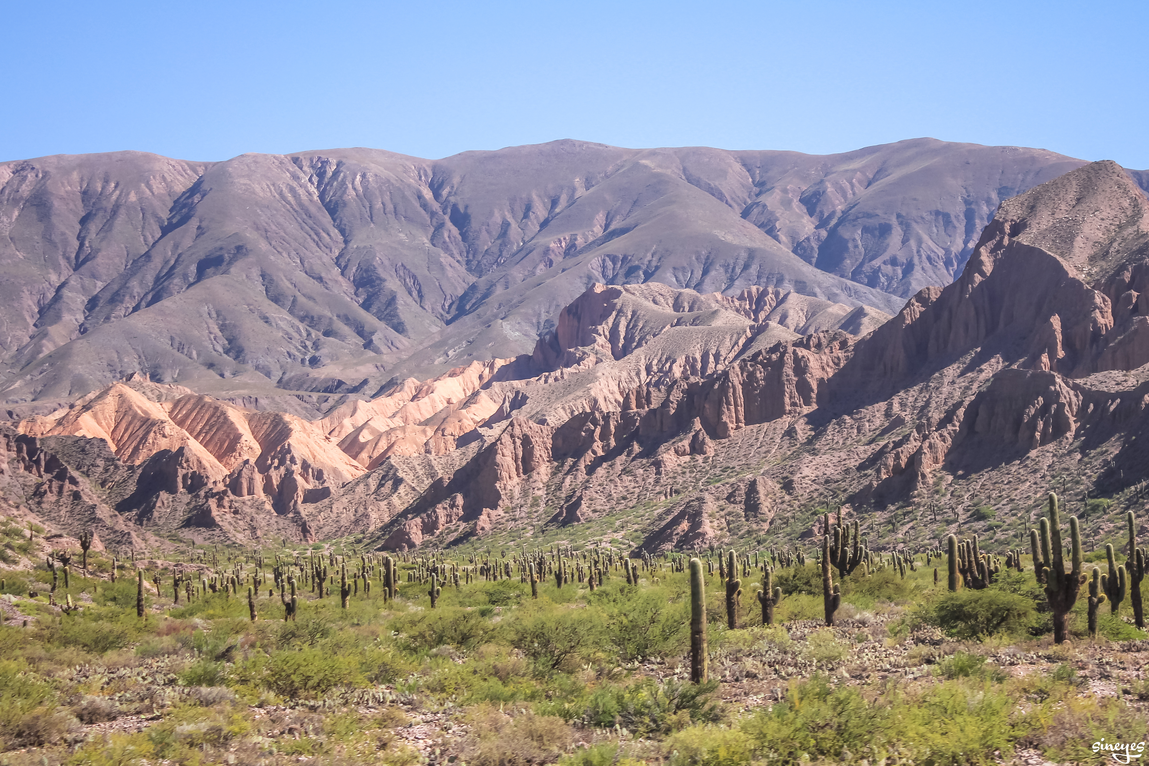 Welcome to nowhere - Quebrada de Humahuaca, Argentine by sineyes