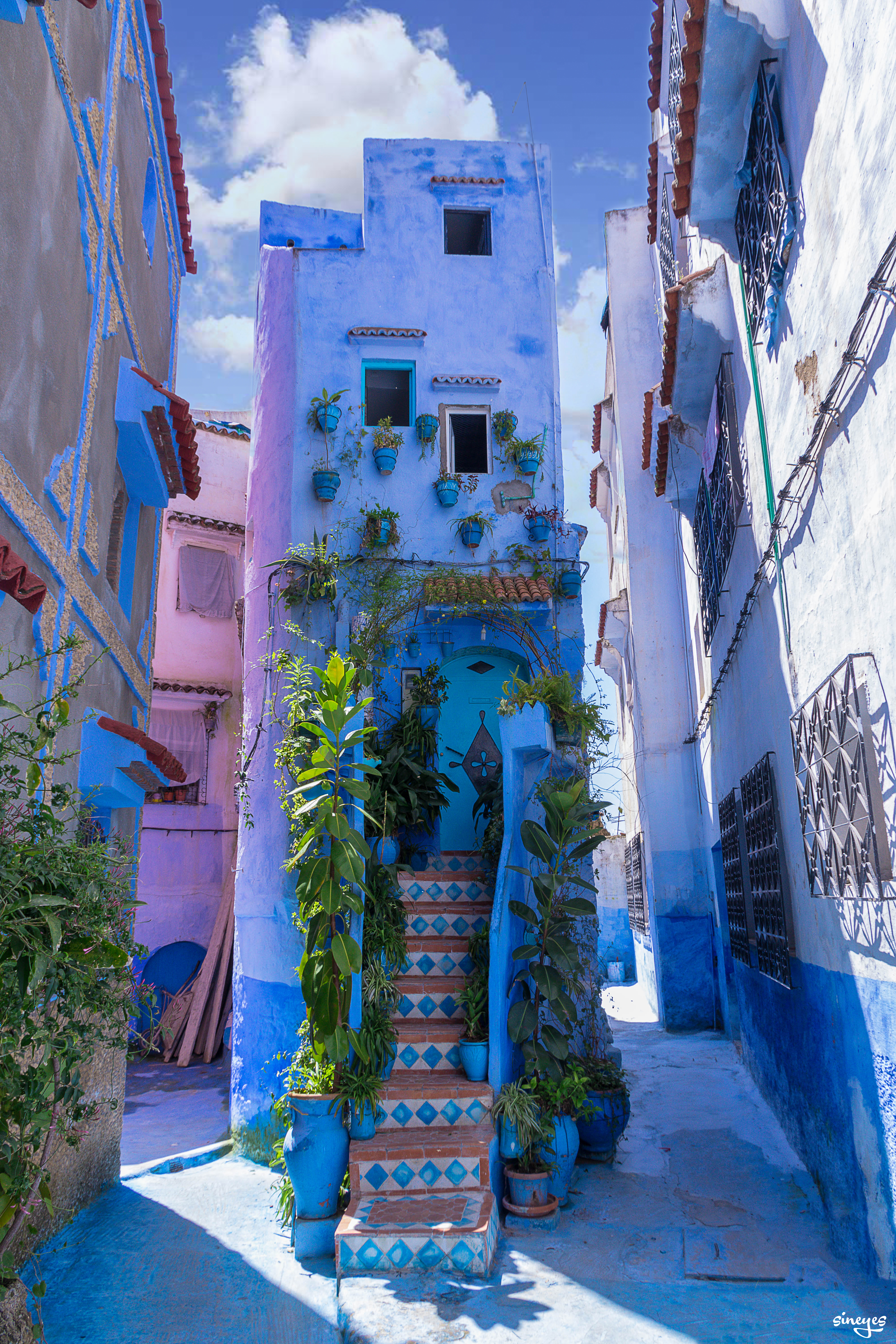 Slim House - Chefchaouen, Maroc, avril 2018