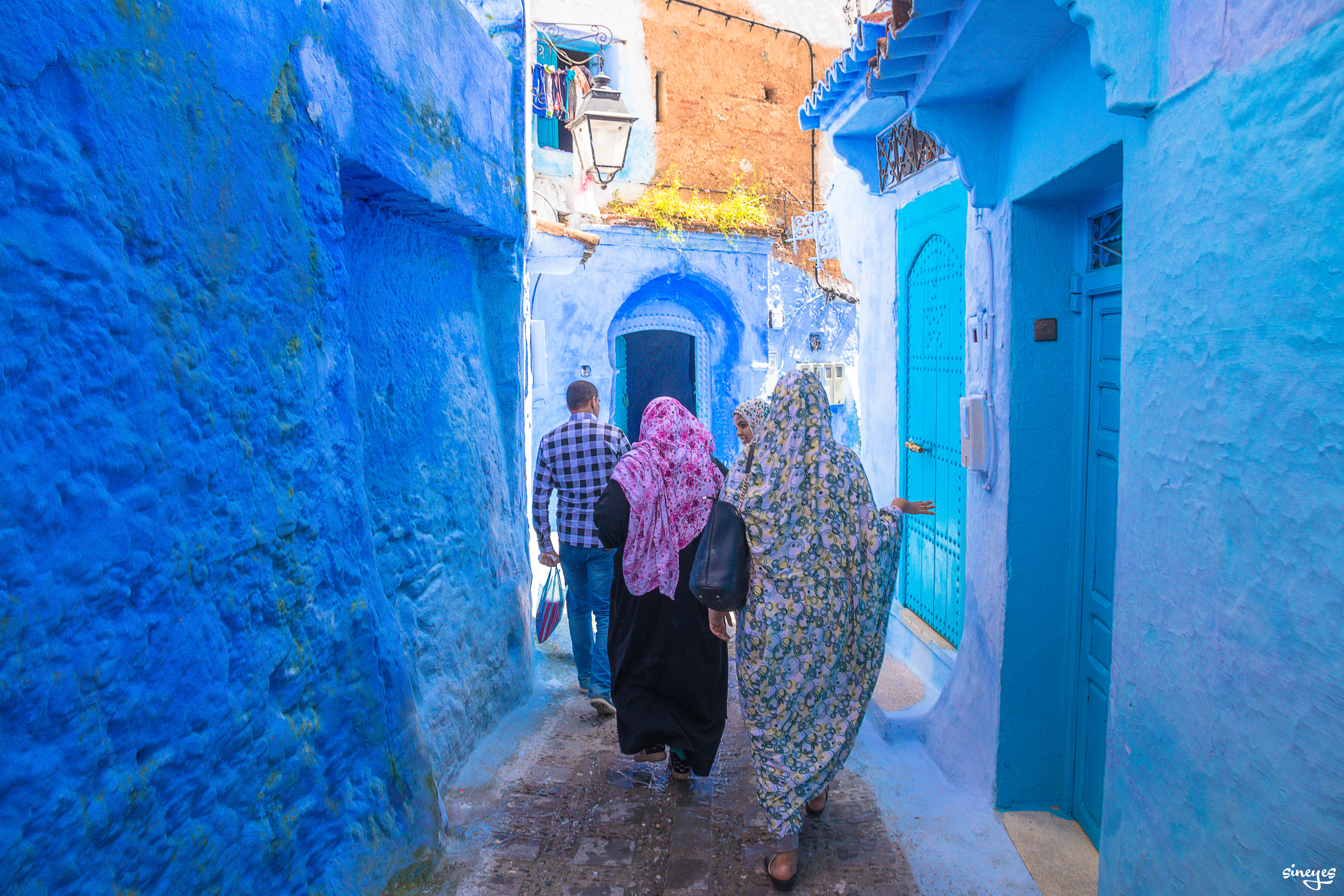 3 voiles - Chefchaouen, Maroc, avril 2018