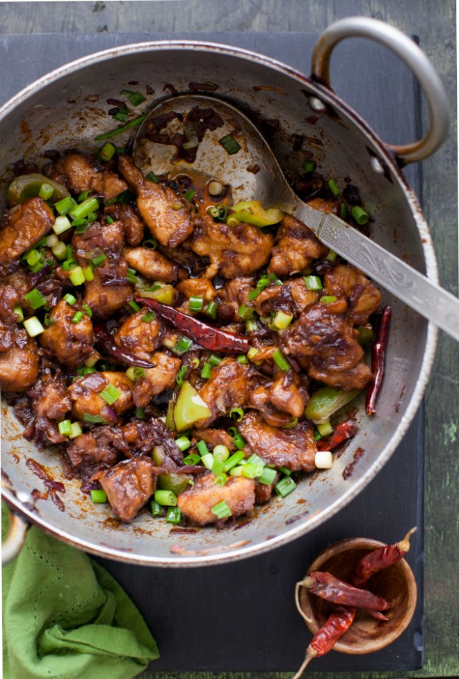Sinfully Spicy - Chilli Chicken #indochinese
