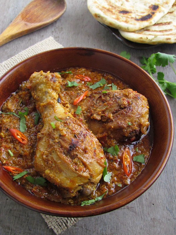 Sinfully Spicy:Bhuna Murgh - Slow Cooked Chicken with Spices