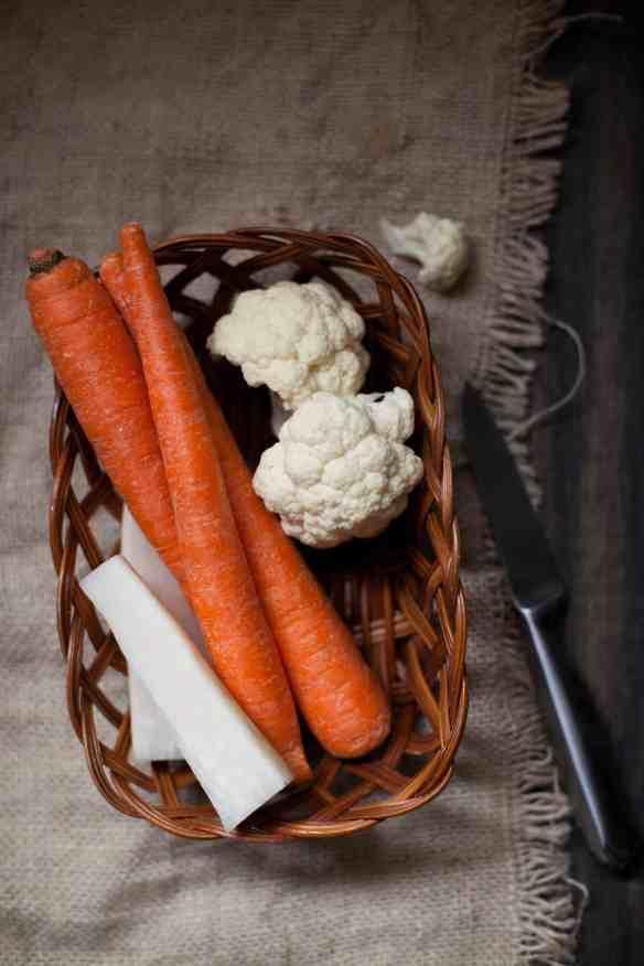 Winter Vegetables, Pickled