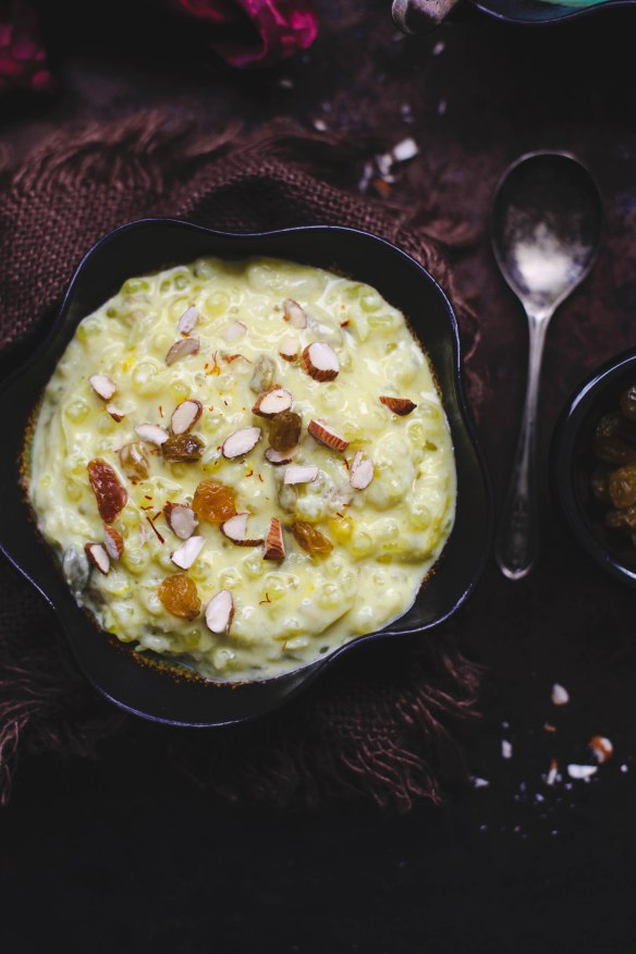 Sinfully Spicy - Sabudana Kheer, Indian tapioca Pudding 001