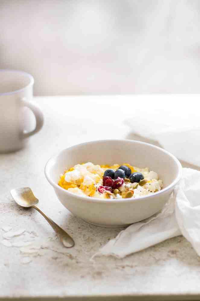 Sinfully Spicy - Dahi Choora - No Cook Flattened Rice & Yogurt Breakfast With Mangoes & Cardamom