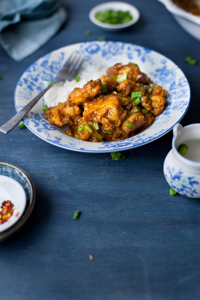 Sinfully Spicy - Chicken in Hot garlic sauce, indochinese #recipe