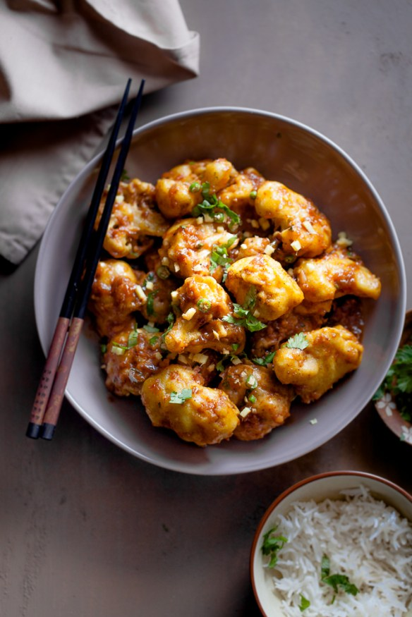 Sinfully Spicy: Chilli Gobhi (Cauliflower) #indochinese