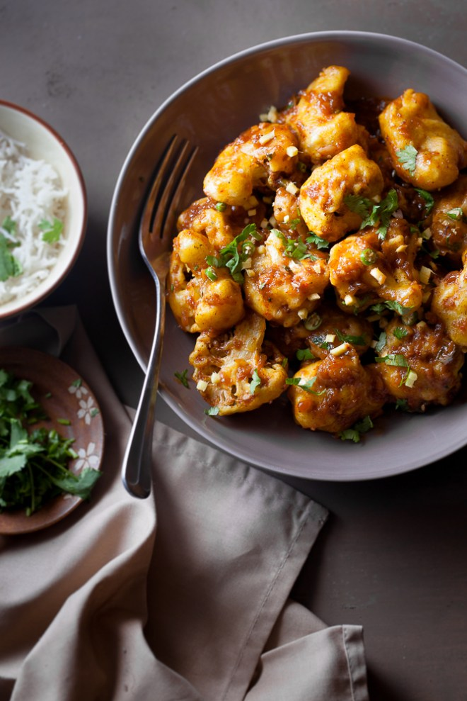 Sinfully Spicy: Chilli Gobhi (Cauliflower) #indochinese