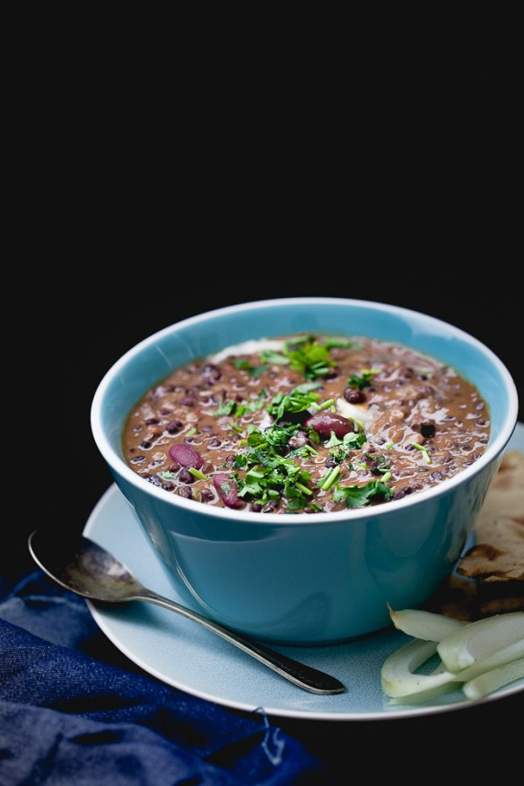 Sinfully Spicy - Dal Makhani (Creamy Lentils)