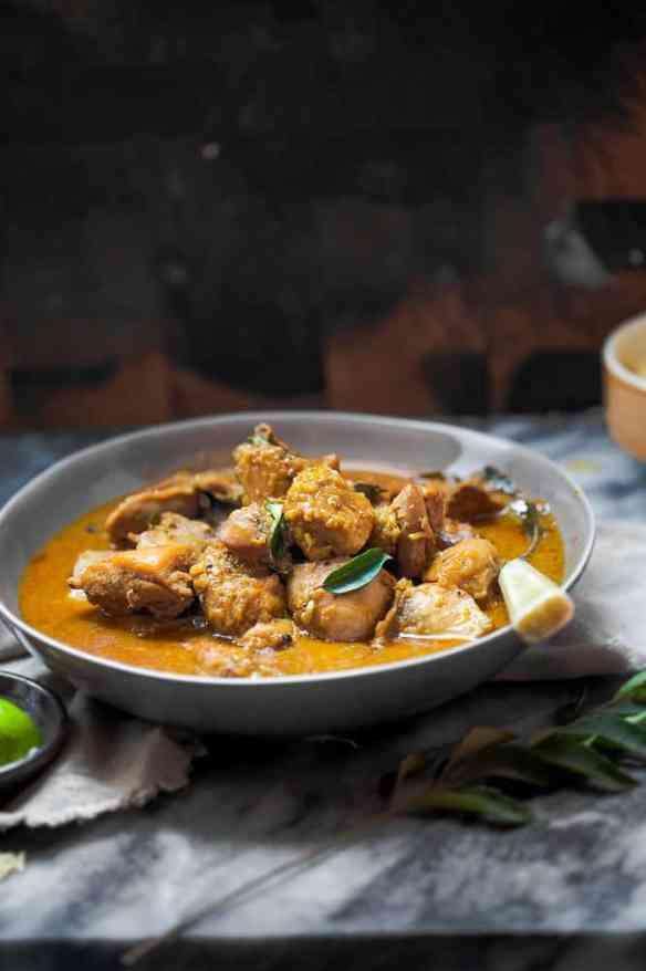 Sinfully Spicy: Chicken in Coconut Milk Gravy