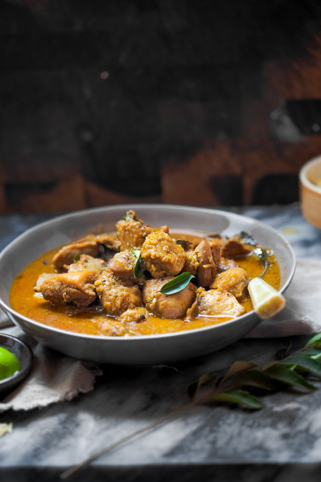 Sinfully Spicy: Chicken in Coconut Milk Gravy